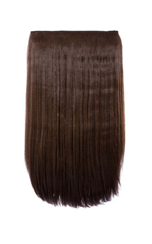 Intense Volume Clip In Hair Extensions - Flicky Choc Brown