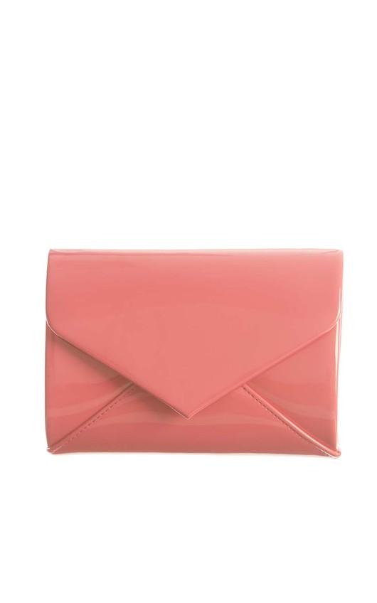 Cicely Fuschia Envelope Clutch Bag