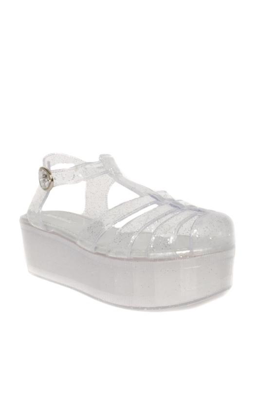 Dahna Platform Jelly Shoe