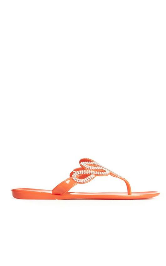 Melinda Embellished Flip Flops