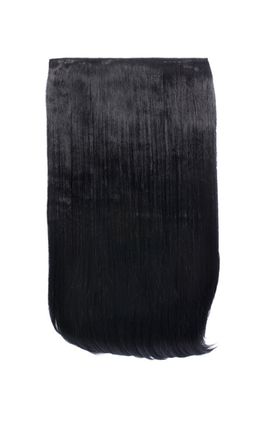Intense Volume Clip In Hair Extensions - Flicky Jet Black