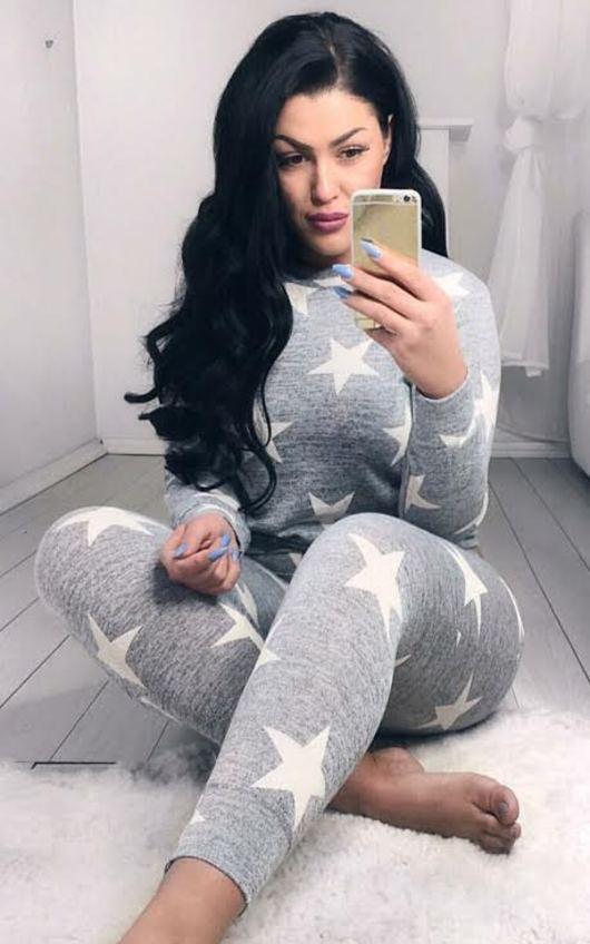 Noorah Star Print Suit