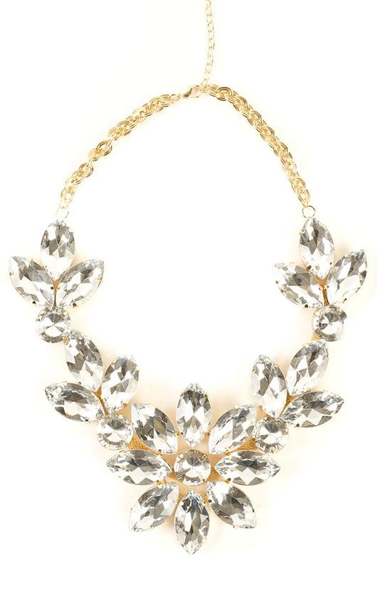 Macy Large Floral Necklace