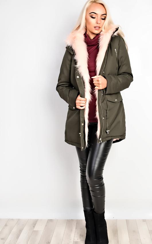 Masie Faux Fur Parka Jacket