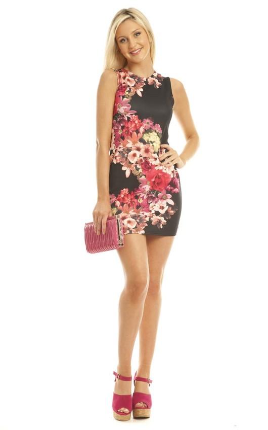 Roya Printed Dress