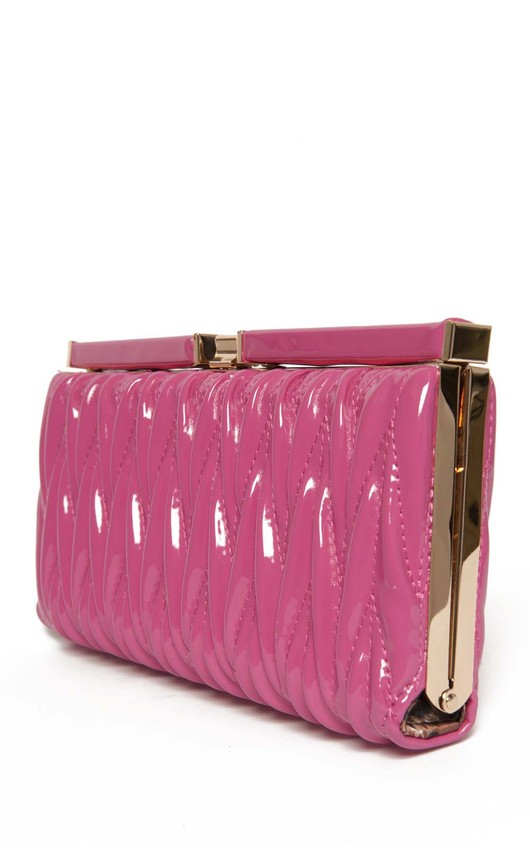 Odela Textured Box Clutch Bag