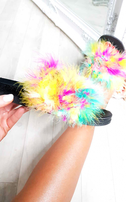 Cassie Feather Sliders