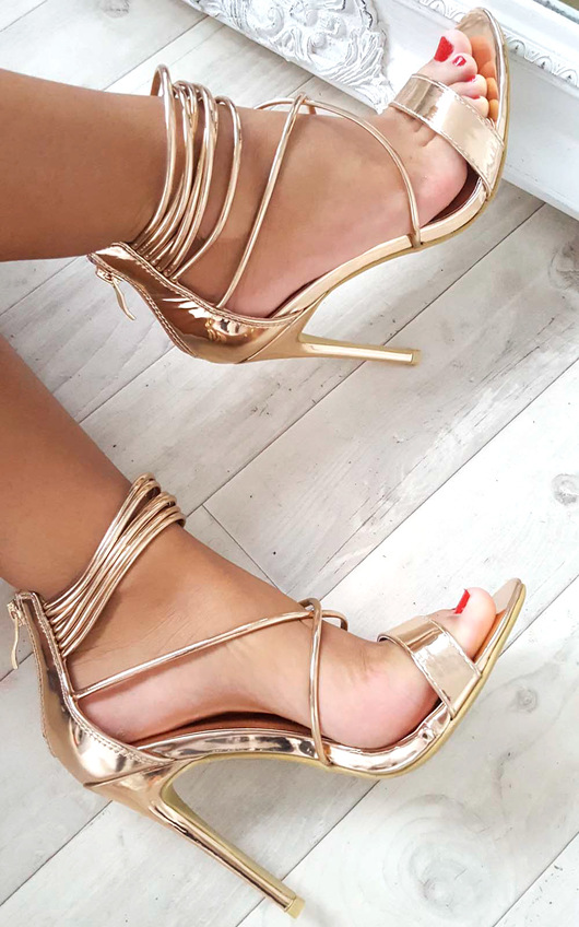 Anastasia Strappy High Heels