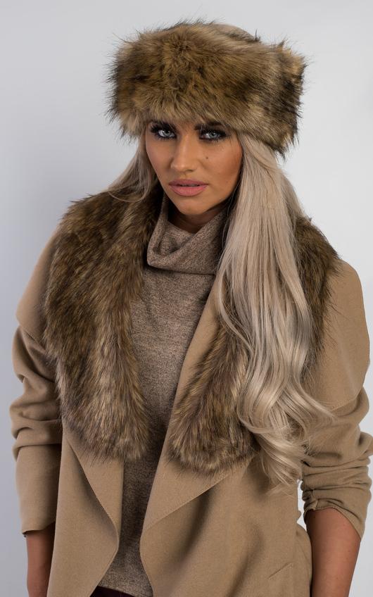 Eirene Faux Fur Headband