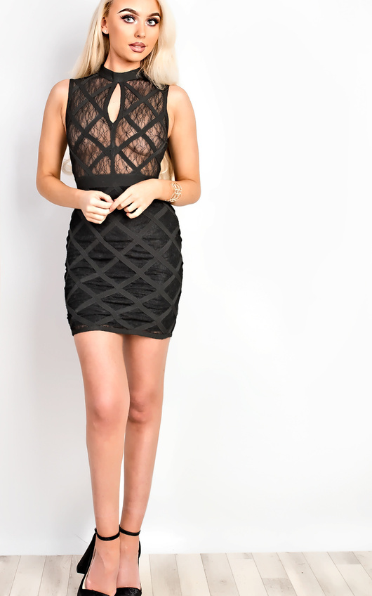 Arisha Bandage Bodycon Dress