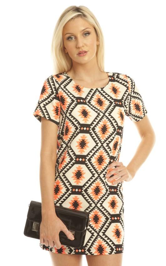 Marnie Printed Shift Dress