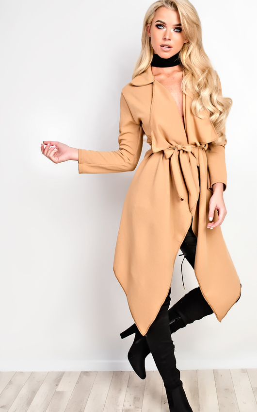 Yasmina Waterfall Coat