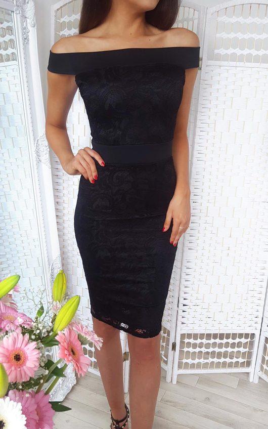 Jasmin Lace Midi Dress