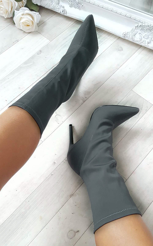 Cassie Stretch Ankle Boots