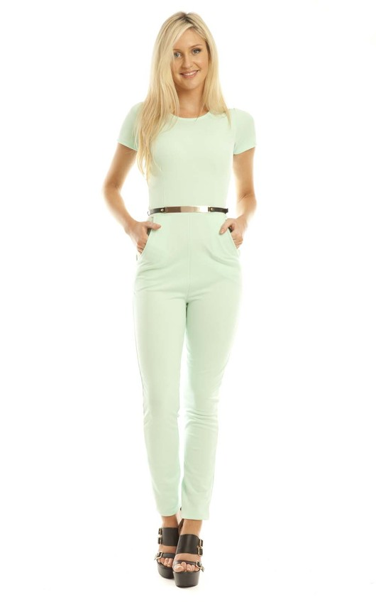 Maiya Jumpsuit in Mint