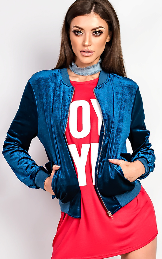 Silvie Velvet Jogger Jacket
