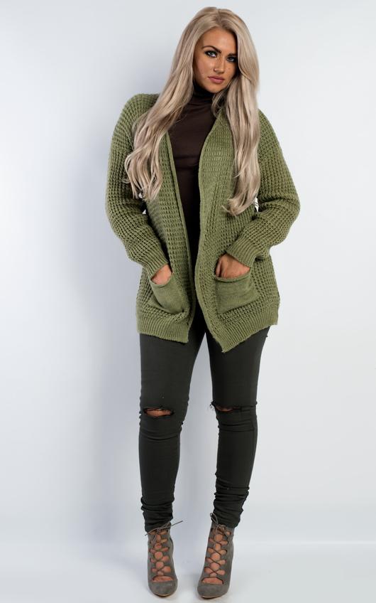 Jemma Oversized Loose Knit Cardigan