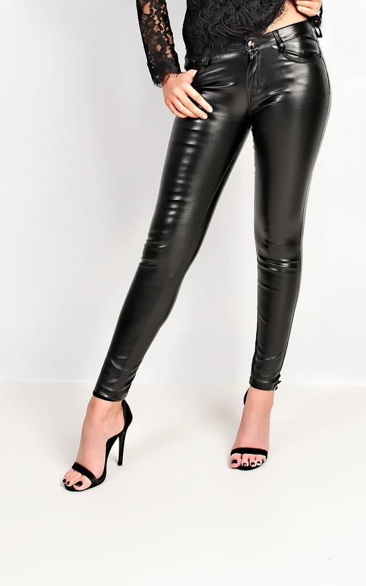 Krishna Faux Leather Trousers