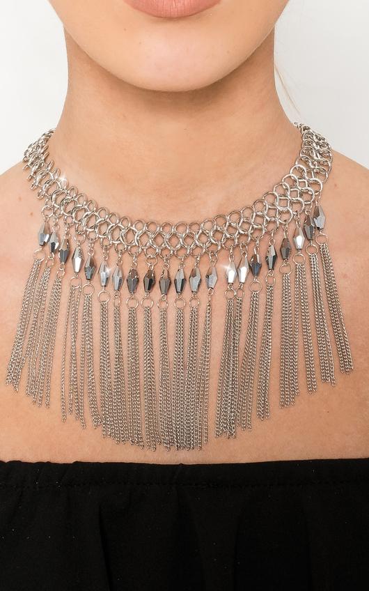 Takisha Drop Chain Necklace