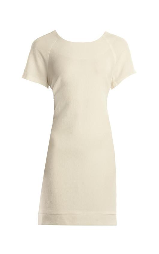 Sophia Cream Shift Dress