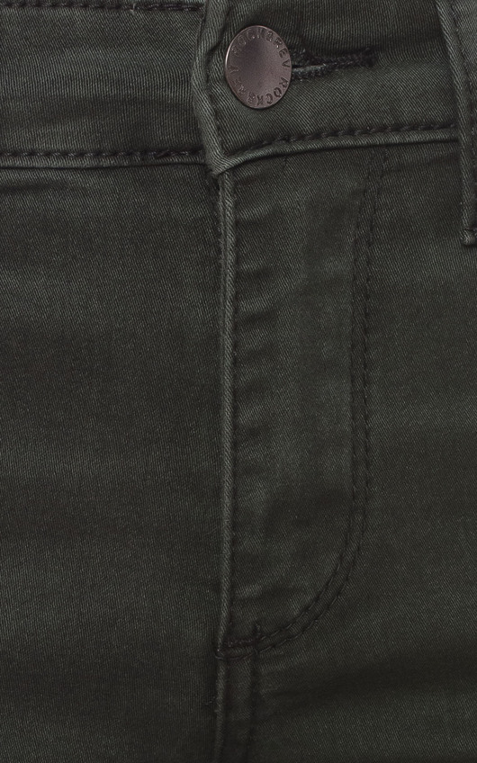 Christa Khaki Skinny Jeans