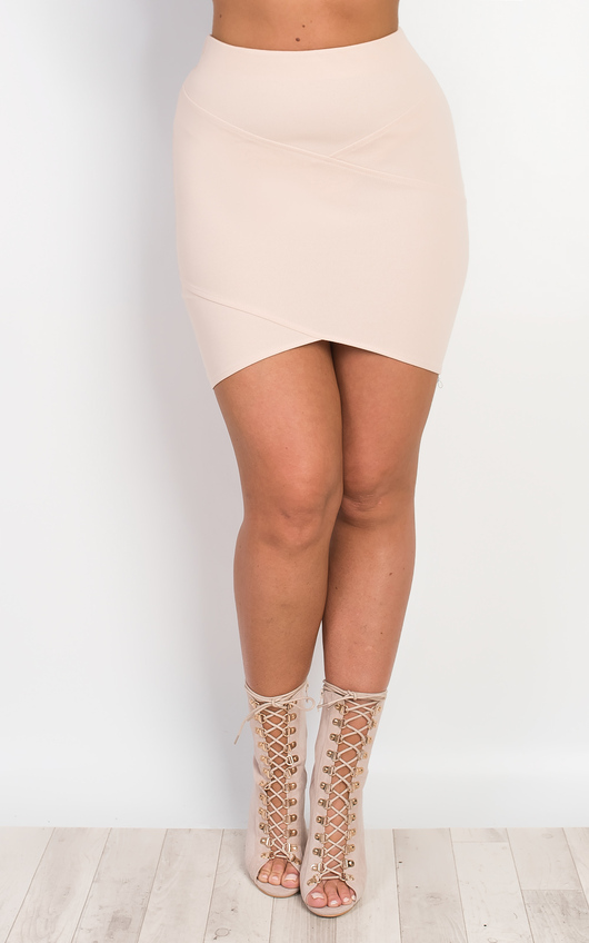 Farah Fitted Mini Skirt