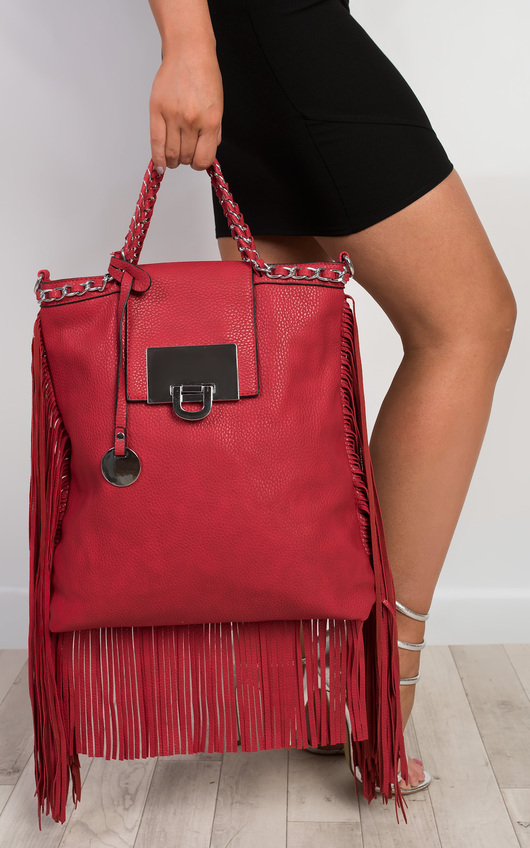 Naamah Fringed Handbag