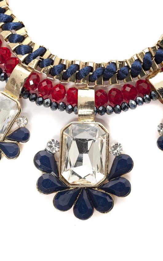 Benita Flower Chocker Necklace