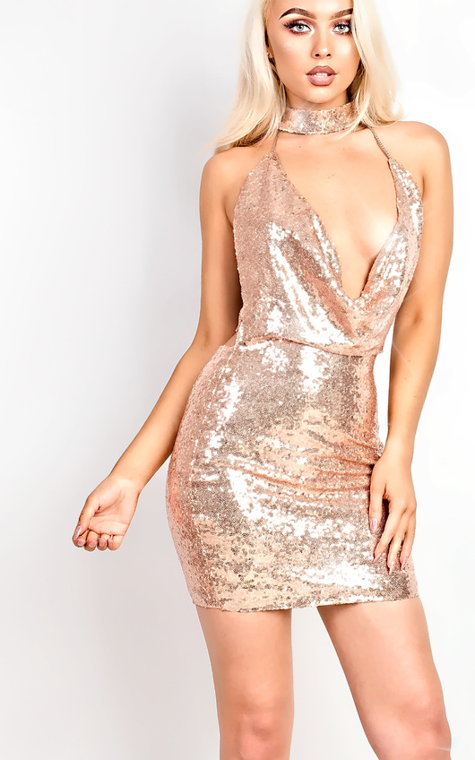 Kate Sequin Bodycon Dress
