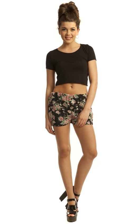 Kelly Floral Shorts