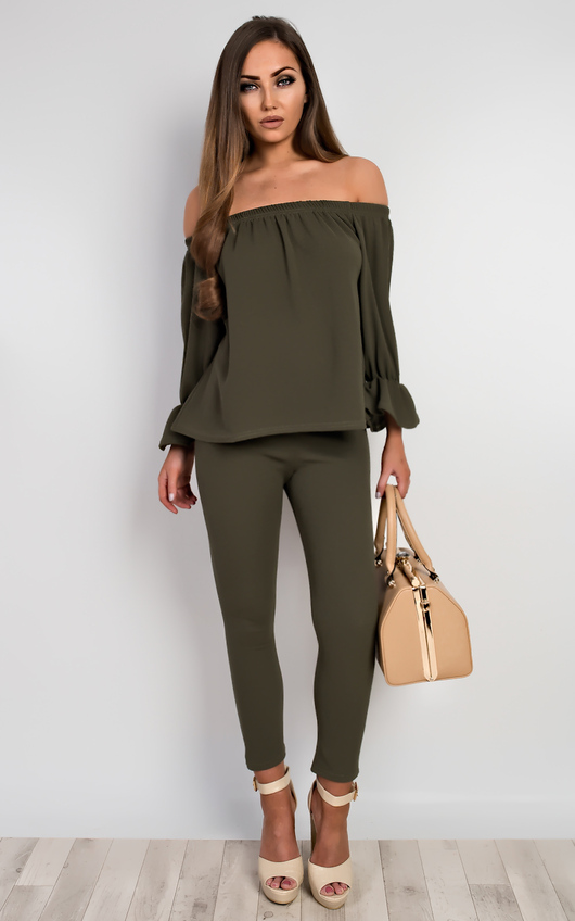 Janie Off Shoulder Co-Ord