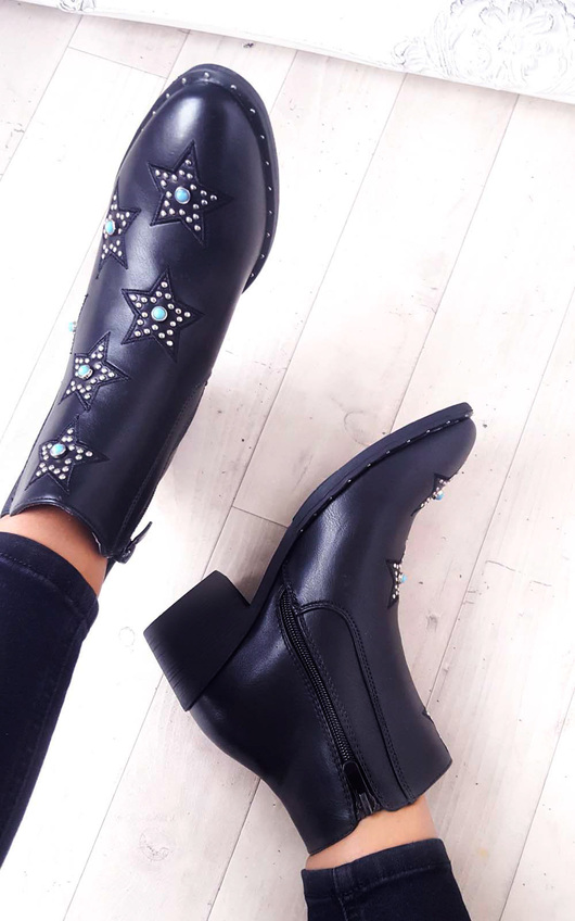 Miami Stone Embellished Chelsea Boot