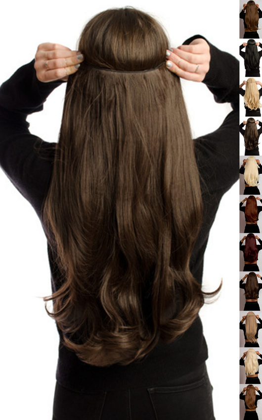 Intense Volume Flicky Clip In Hair Extensions