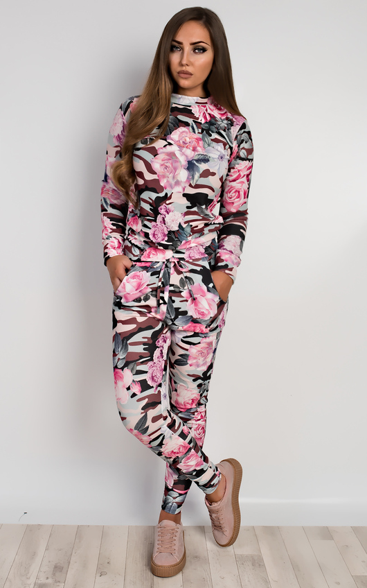 Jacey Floral Casual Co-Ord