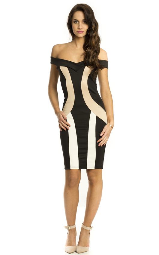 Piper Bodycon Panel Dress