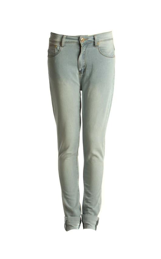 Rihanna Light Blue Jeans