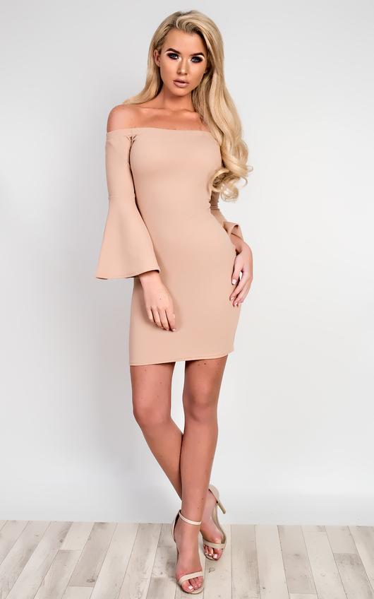 Gwen Off Shoulder Bodycon Dress