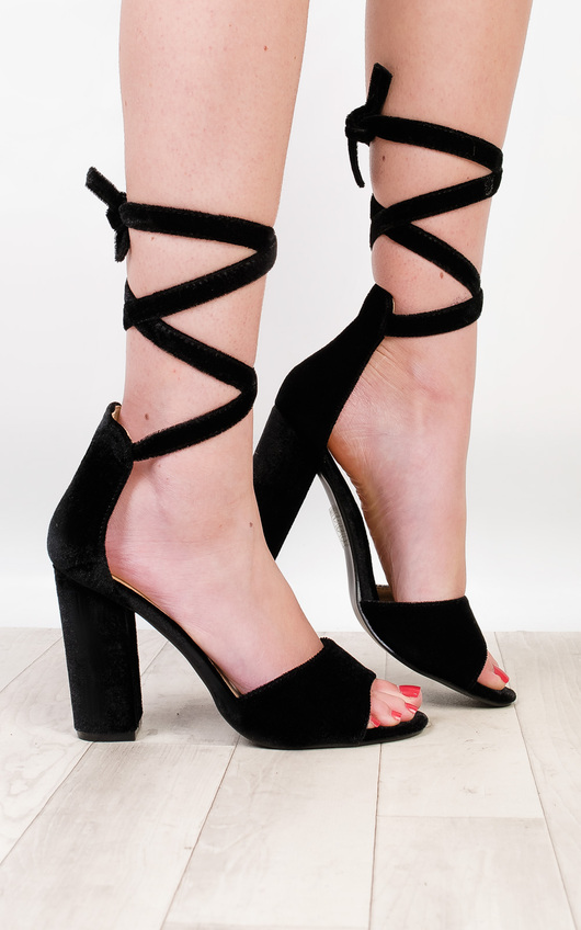 Corina Strappy High Heels