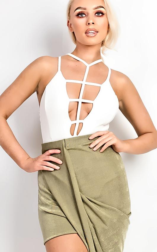Nadiah Lattice Bodysuit