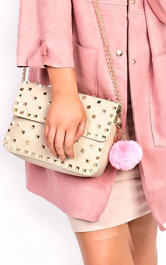 Farina Fur Chain Bag Charm