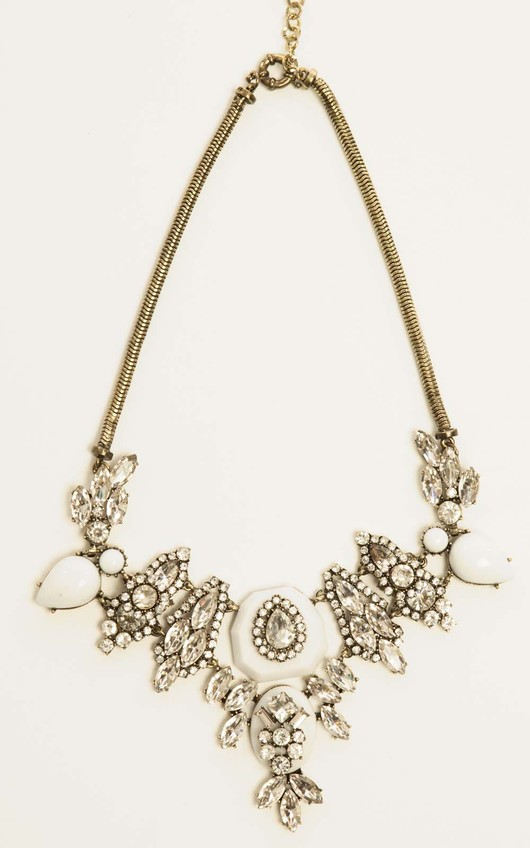 Roxette Multi Crystal Necklace