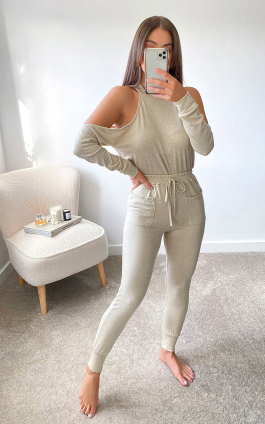 Abby Open Shoulder Co Ord