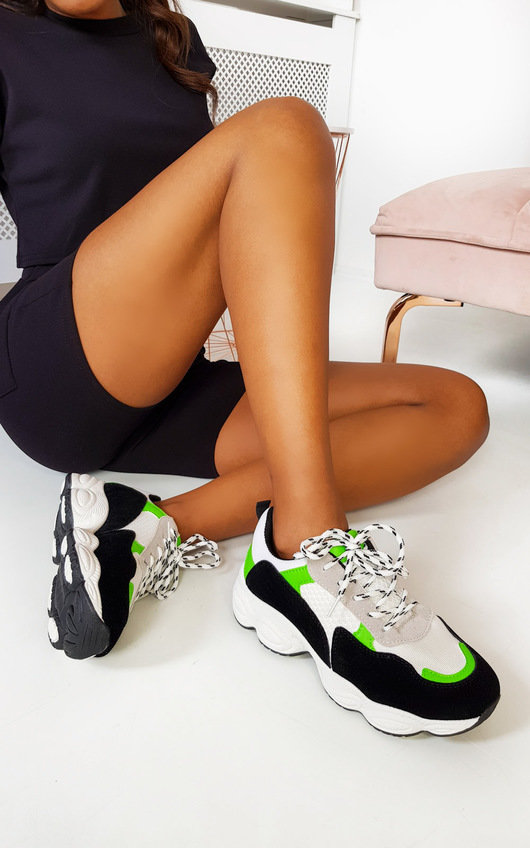 Abigail Chunky Mesh Trainers
