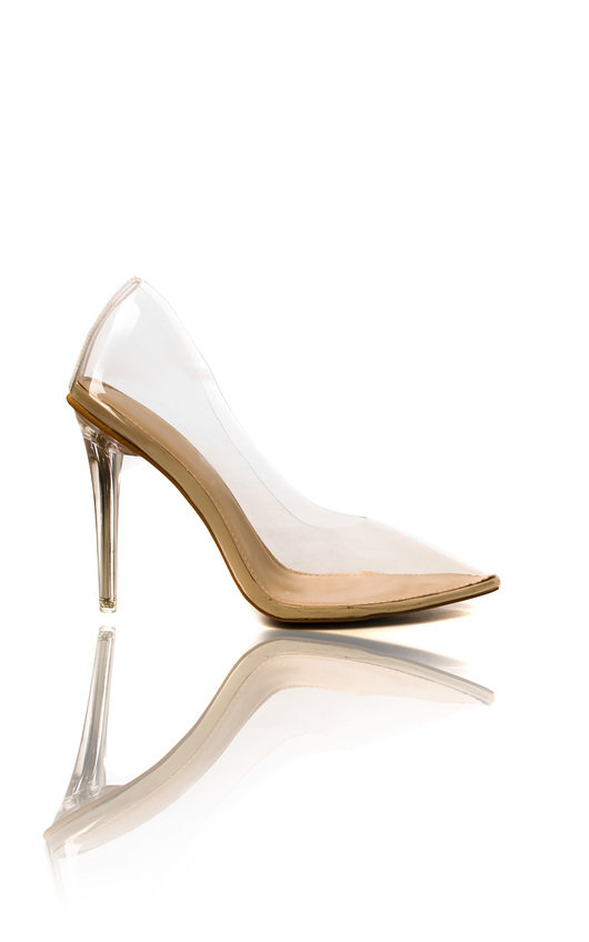 Ada Perspex Court Heels