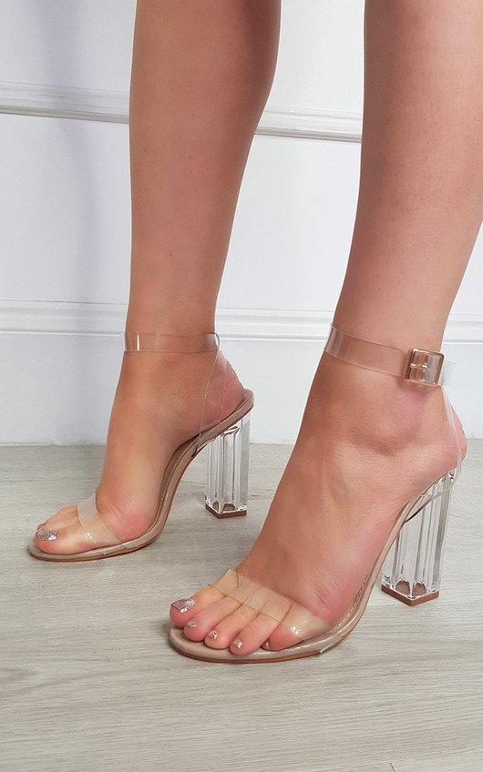 Adelaide Perspex Heels