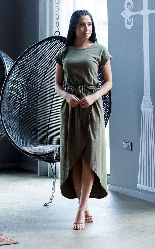 Adele T-Shirt Midi Dress