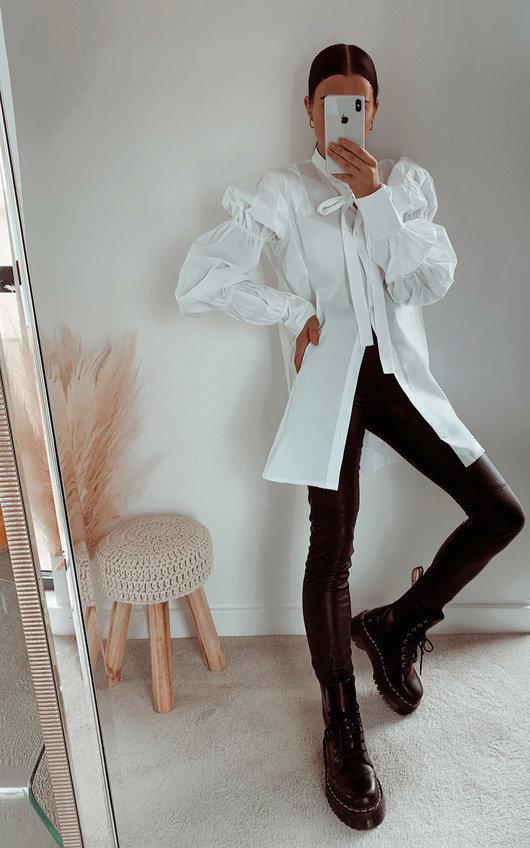 Alanah Frill Shirt Dress