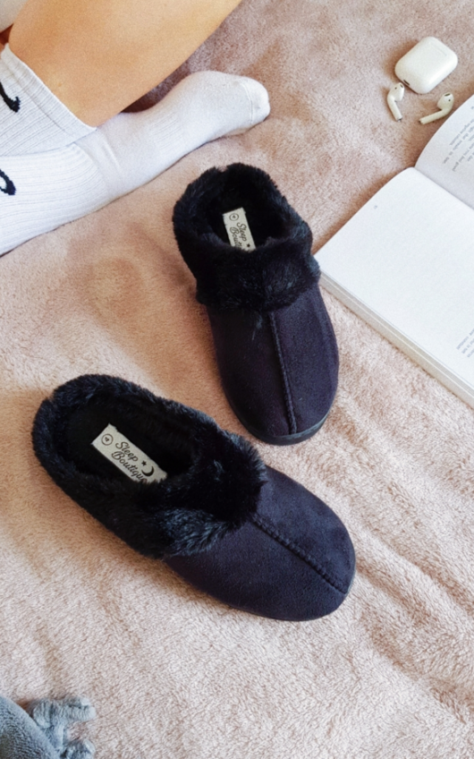 Alaya Faux Fur Slippers