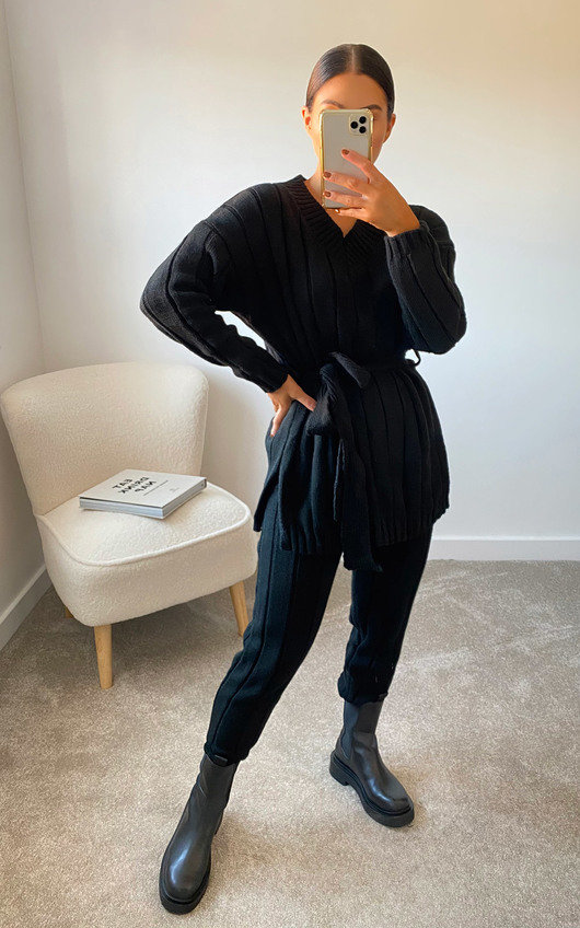 Aliya Knitted Ribbed Co-ord