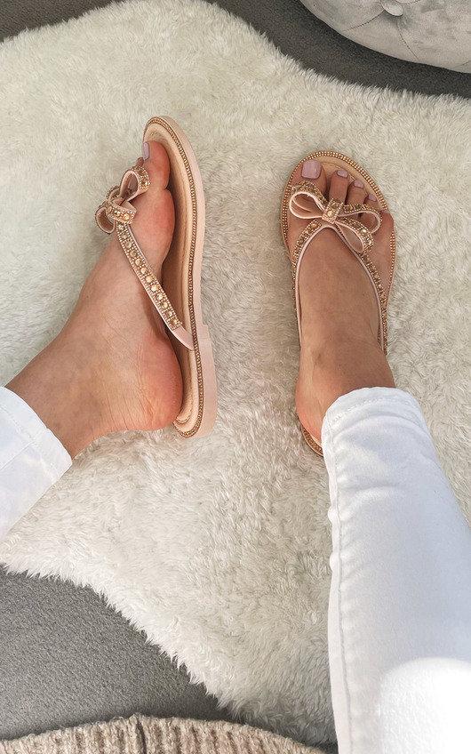 Alta Bow Detail Sandals